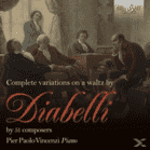Pier Paolo Vincenzi - Complete Variations On A Waltz By Diabelli [CD] jetztbilligerkaufen