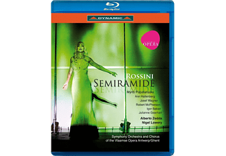 VARIOUS, Symphony Orchestra & Chorus Of The Vlaamse Opera Antwerp - Semiramide [Blu-ray]