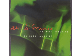 Ani Difranco - So Much Shouting, So Much Laughter - (CD)