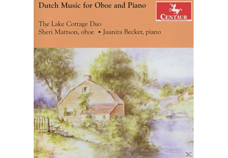 Lake Cottage Duo/Mattson/Becker - Dutch Music for Oboe and Piano - (CD)