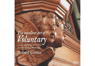 Robert Costin - The excellent art of Voluntary - (CD)