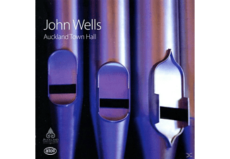 John Wells - Die Orgel der Auckland Town Hall - (CD)