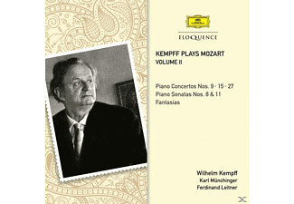 Wilhelm Kempff - Kempff plays Mozart-Vol.2 - (CD)