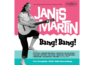 Janis Martin - Bang! Bang!-The Complete 195 - (CD)