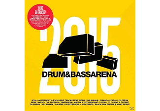 VARIOUS - Drum & Bass Arena 2015 (3cd+Mp3) - (CD + Download)