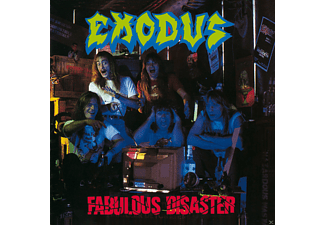 Exodus Fabulous Disaster CD