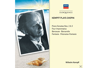 Wilhelm Kempff - Kempff plays Chopin - (CD)