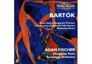 Hungarian State Symphony Orche, Adam/hungarian State Symphony Orchestra Fischer - Bartok Dance Suite - (CD)