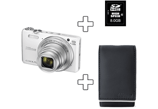 NIKON COOLPIX S7000 + Premium Kit Wit