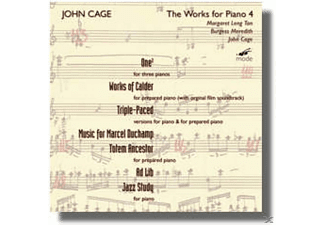 Cage,John/Meredith,Brgess/Leng Tan,Margaret - Works For Prepared Piano 4/..For Pi - (CD)