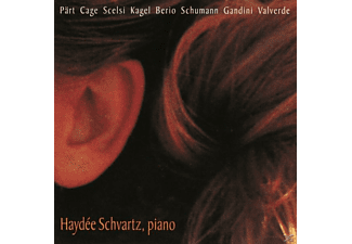 Haydee Schvartz - New Piano Works From Europe And The Americas - (CD)
