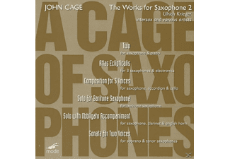 VARIOUS, Ulrich Krieger - The Works For Saxophone 2 - (CD)