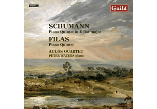 Peter Aulosquartet/waters, Peter Aulos Quartet/waters - Schumann/Filas Piano Quintet - (CD)