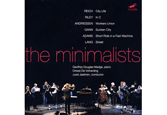 Geoffrey Douglas & Orkest De Volharding Madge - The Minimalists - (CD)