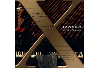 Aki Takahashi - Works With Piano/Xenakis Ed.11 - (CD)