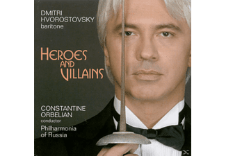 Dmitri Hvorostovsky, Ivari Ilja - Heroes And Villains - (CD)