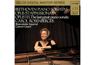Carol Rosenberger - Beeth./Klav.Son.op.57+111 - (CD)