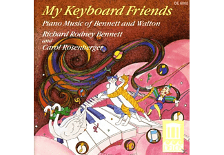 BENNETT,R.R./ROSENBERGER,CAROL, Bennett,Richard Rodney/Rosenberger,Carol - My Keyboard Friends/Kinder - (CD)