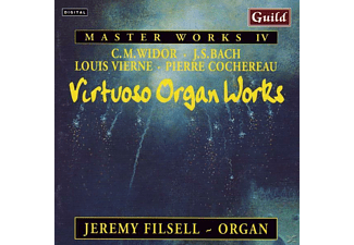 Jeremy Filsell - Virtuose Orgelwerke - (CD)