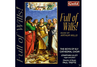 Trepte/Boys Fo Ely Cathedral Choir - Full Of Wills - (CD)