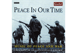 Choiroflincolnschoircambri, Choir Of Lincolns Choir Cambridge - Music Of Peace And War - (CD)