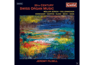 Jeremy Filsell - Swiss Organ Music - (CD)