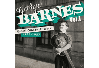 George Barnes - Quiet! Gibson At Work (1938-1957) [CD]