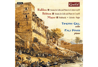 GILL, TIMOTHY/PAVRI, FALI - Rubbra/Britten Cellosonaten - (CD)