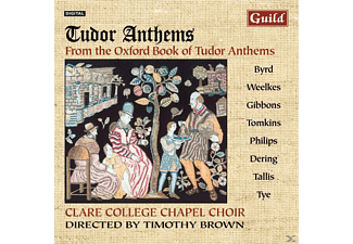 BROWN/CLARECOLLEGECHAPELCHO, Timothy Brown Clare College Chapel Choir - Tudor Anthems - (CD)