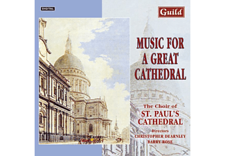 CHOIROFST.PAUL SCATHEDRAL, Choir Of St.Paul's Cathedral - Music For A Great Cathedral - (CD)