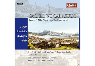 VARIOUS, Webber/Jones/Cambridge Baroque Camerata - Schweizer Vokalmusik - (CD)