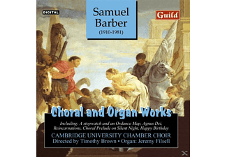 Filsell, Filsell/Brown/Cambridge University Chamber Choir - Barber Chor-+Orgelwerke - (CD)