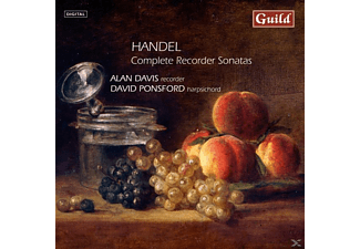 DAVIS, ALAN/PONSFORD, DAVID - Händel Blockflötensonaten - (CD)