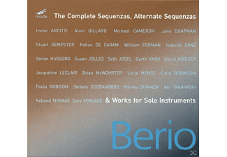 Luciano Berio, VARIOUS - Complete Sequenzas & Works For Solo - (CD)