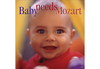 VARIOUS - Baby Needs Mozart - (CD)