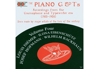 Wolfgang Hofmann, Backhaus/Diemer/Hofmann/+ - The Piano G& TS Vol.4 - (CD)