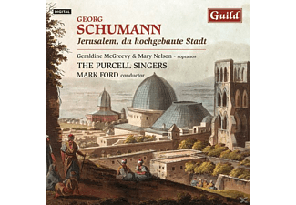 Purcellsingers, Mark/purcell Singers Ford - Jerusalem,Du Hochgebaute Stadt - (CD)