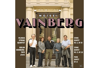Vilnius String Quartet - Vainberg:Chamber Music - (CD)