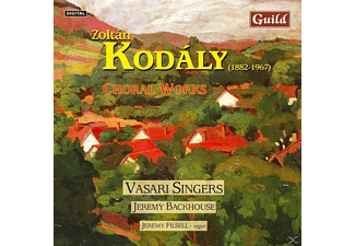 VASARISINGERS/BACKHOUSE/FILSE, VASARI SINGERS/BACKHOUSE/FILSE - Kodaly:Chorwerke - (CD)