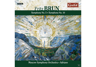 Adriano Moscow Symphony Orchestra - Brun:Sinfonien 5+10 - (CD)