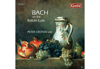 Croton Peter - Bach:On The Italian Lute - (CD)