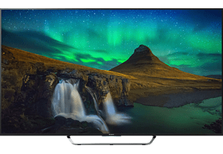 "SONY KD75X8505C 75"" Smart 4K UHD -TV 100 Hz - Svart"