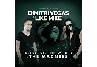 Dimtri Vegas & Like Mike - Bringing The World The Madness [CD]