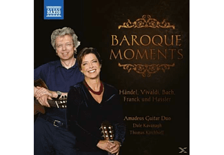 Amadeus Guitar Duo, Dale Kavanagh, Thomas Kirchhoff - Baroque Moments [CD]