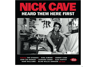 VARIOUS - Nick Cave Heard Them Here First [CD]