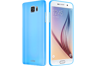 SBS MOBILE Fluo Cover Galaxy S6 - Blå