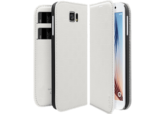 SBS MOBILE Bookstyle case Galaxy S6 - Vit