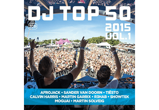 VARIOUS - Dj Top 50 2015 - (CD)