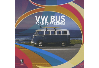 Earbooks: VW Bus - Road To Freedom, Rock (Gebunden)