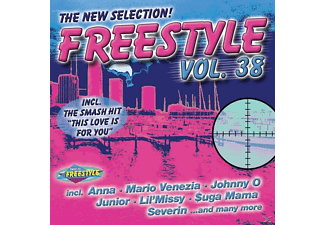 VARIOUS - Freestyle Vol.38 - (CD)